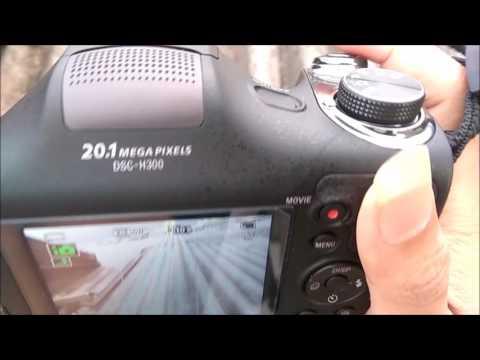 Review Kamera Sony DSC H300 Indonesia