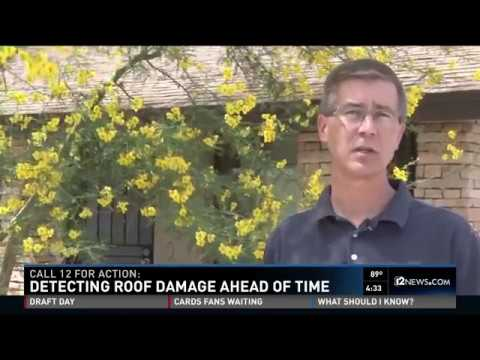 SUNVEK - 12 News - How To Detect Roof Damage Ahead Of Time