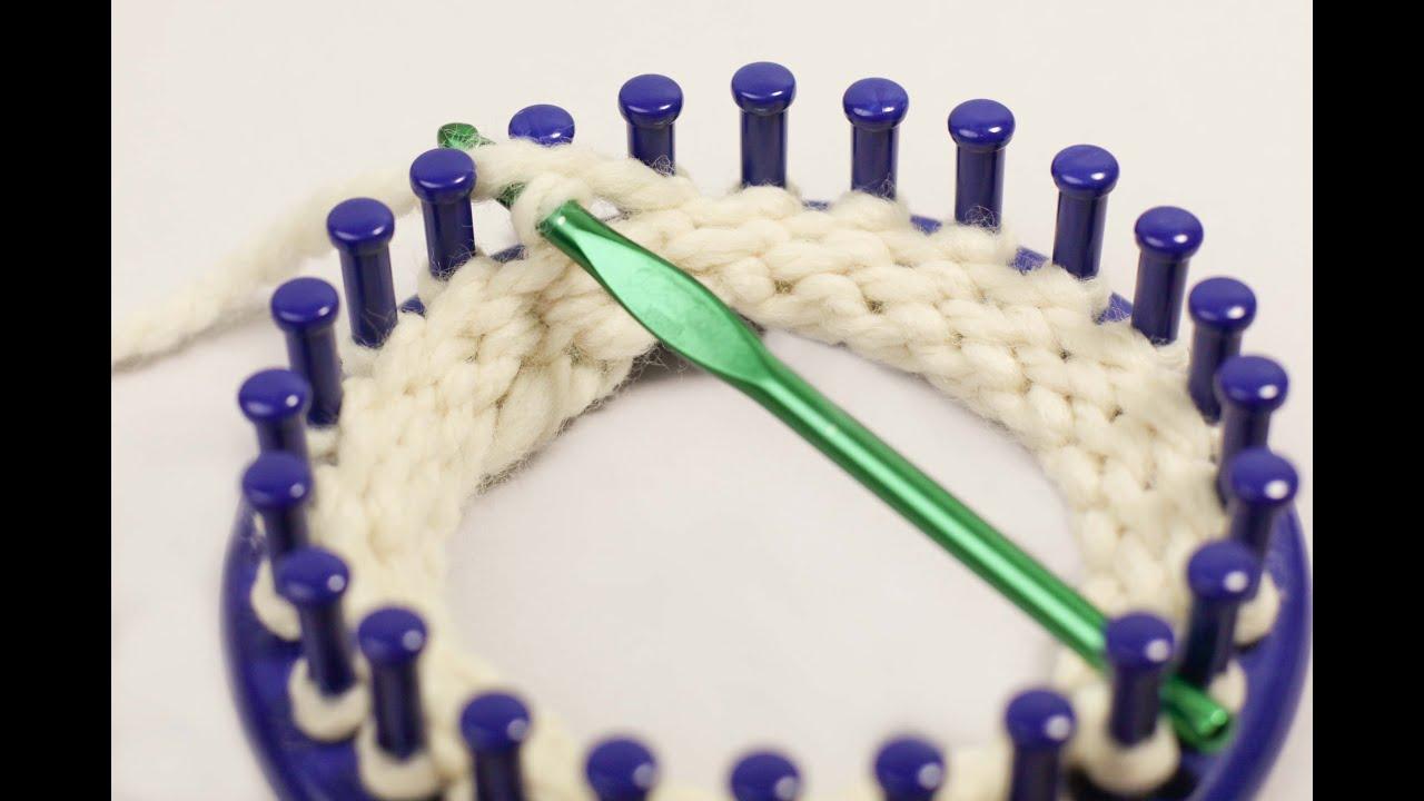 Single Crochet Bind Off Or Chain One Bo Loom Knitting Youtube