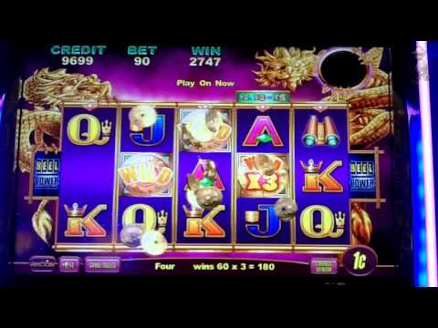Aristocrat Technologies - Imperial House Slot Line Hit & Bonus