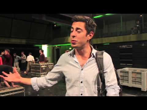 Globe to Globe Hamlet - Matthew Romain interview - Madrid, Spain