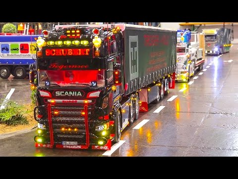MEGA RC MODEL TRUCK COLLECTION VOL.1! RC MB AROCS, RC SCANIA, RC MAN, RC TRUCKS, RC US TRUCK