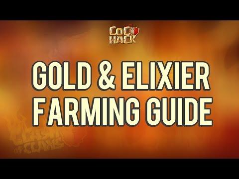 Clash of Clans Farming Guide (Elixir & Gold)