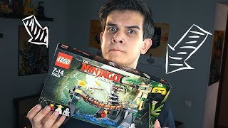 LEGO Ниндзяго Фильм - БИТВА НА МОСТУ - Набор На Обзор (70608)