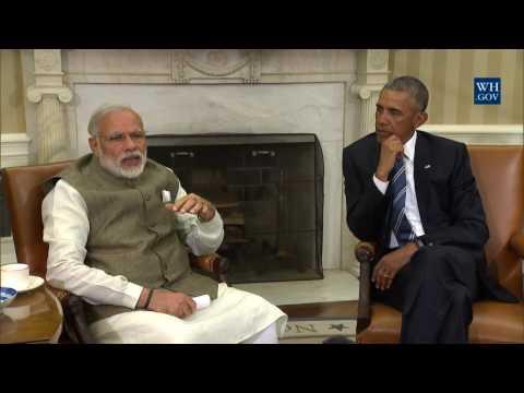 President Obama and Prime Minister Modi