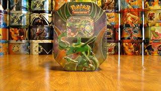 Pokemon Rayquaza EX Tin Opening
