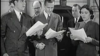 "Amazing Short Film on Old Time Radio Sound Effects: ""Back of the Mike"" (1938)"