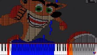 Dark MIDI - CRASH BANDICOOT 1 THEME