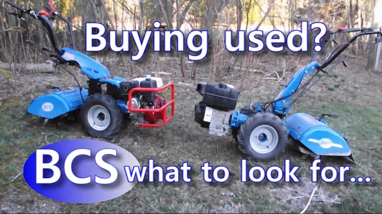 Bcs Garden Tractors : Bcs walk behind wheels tractor buying used what t