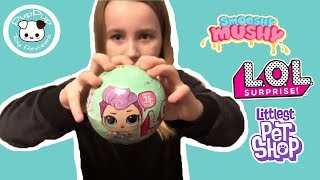 Opening LOL Surprise, Smooshy Mushy Bestie blind bag, LPS blind bag, Toy Unboxing Review for Kids