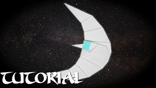 Origami Crescent Moon Tutorial