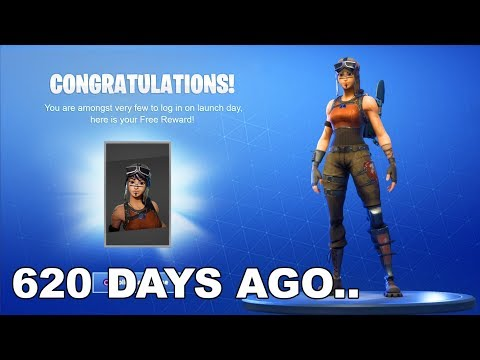 Day 1 Season 0 - Fortnite: Battle Royale 620 Days Ago... (Rare Early Access Fortnite 2017 Gameplay)!