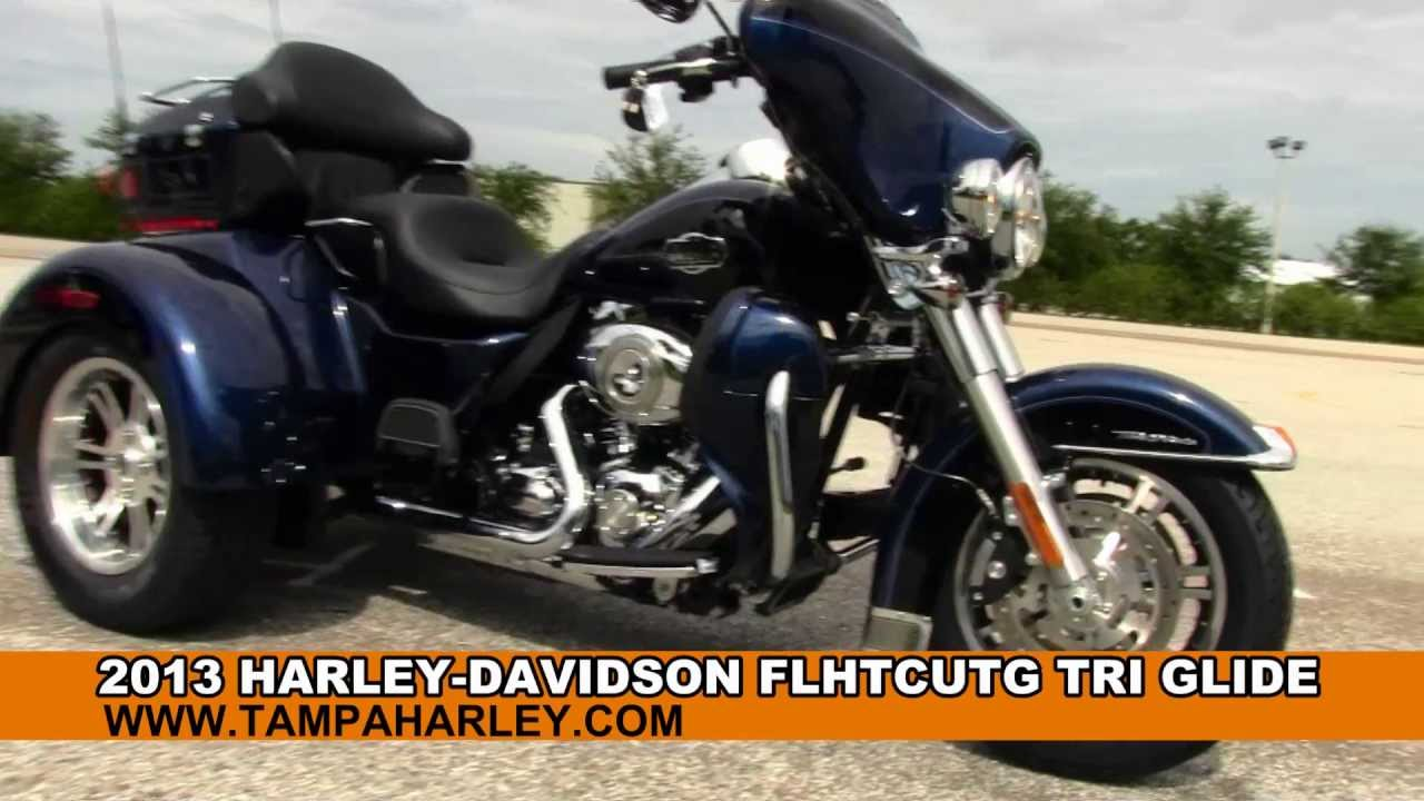 Harley Tri Glide >> New 2013 Harley-Davidson Trike for Sale - New Motorcycles - San Antonio - YouTube