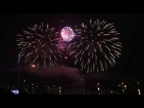 Chicago Navy Pier Fireworks - July 4th,  2016