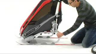 How to install the CTS Cross-Country Ski Kit by Chariot Carriers