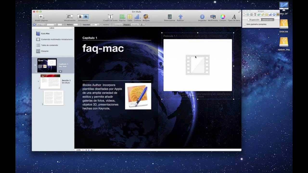 Todo sobre iOS 5 - Primeros pasos con iBooks Author - YouTube
