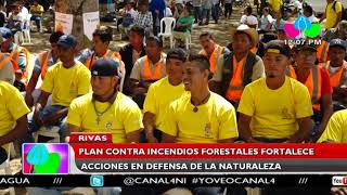 Rivas: Plan contra incendios forestales fortalece acciones en defensa de la naturaleza