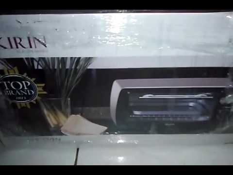 KIRIN KBO-90M kapasitas 9liter (oven keren buat pemula)