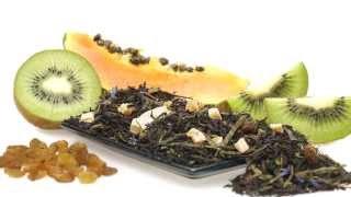 Exotic Breakfast (kiwi, Papaya Black Tea) - Rivertea Videos