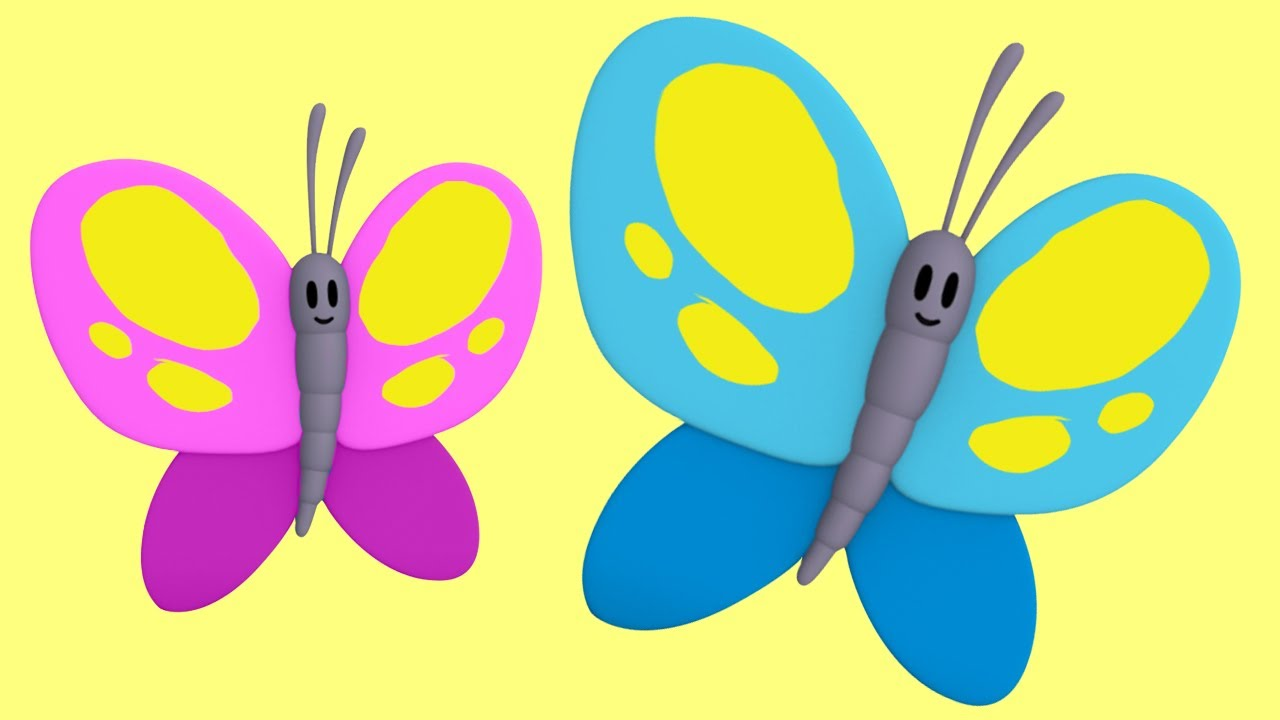 learn colors for toddlers with color butterfly u0026 more it u0027s