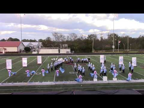 Pike County Central High School Marching Band 10-20-2018