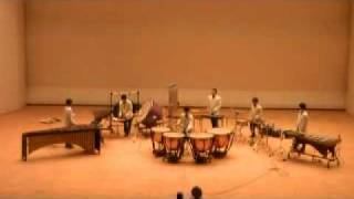 J.べック ティンパ二と打楽器のためのコンチェルト.