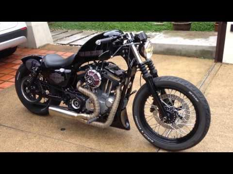 Harley Sportster Nightster - Team Dark Custom
