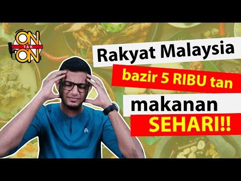 Ep. 29 : Dahsyat rakyat Malaysia bazir makanan ribu tan sehari!