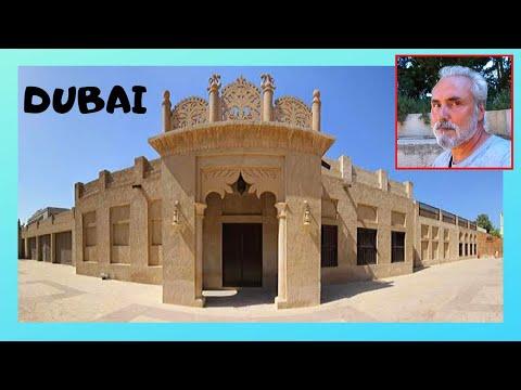 DUBAI, the wonderful OLD TOWN of AL-FAHIDI, a historical neighbourhood