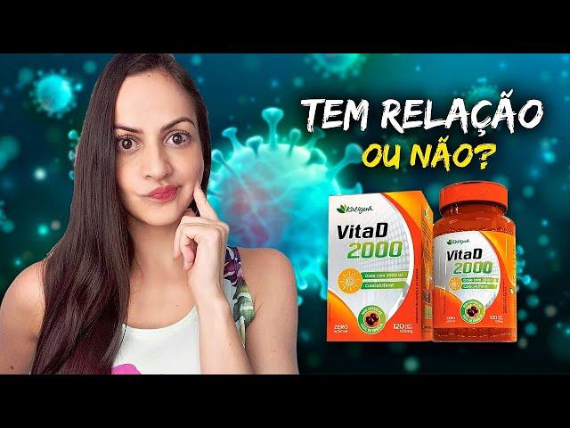🛑 VITAMINA D e COVID-19 - Qual a relação entre eles? #vitaminad