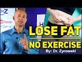 How To Lose Fat Naturally Without Exercise | Belly Fat Be Gone!