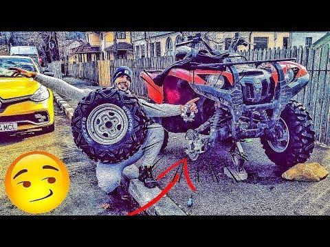 AM MONTAT DISTANTIERE LA ATV !!! ATV VLOG 😍