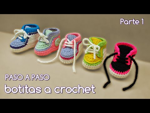 Botitas Escarpines Tejer Cómo Zapatitos CrochetGanchillo Bebé 1cFJTlK