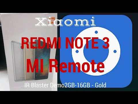 Hindi Redmi Note 3 IR Remote Demo