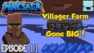 Villager Spawner Tutorial (Updated) | Skyblock with NoobSniper Ep 11