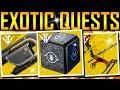 Destiny 2 - YAY! THE BIG EXOTIC QUEST VIDEO!