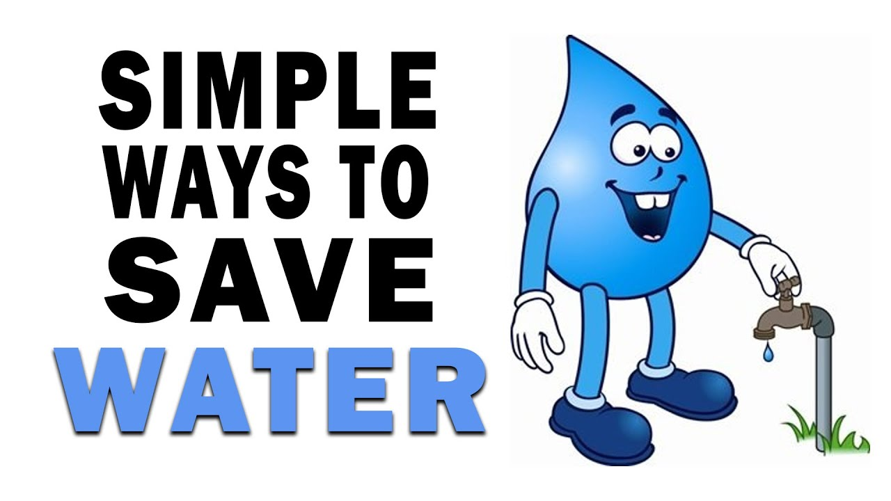 5 simple tips to save water youtube for How to conserve water at home