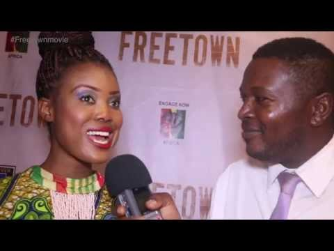 Stacy Mawuse  talks about Freetown Movie streaming vf
