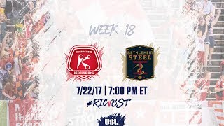 Richmond Kickers vs Bethlehem Steel FC full match