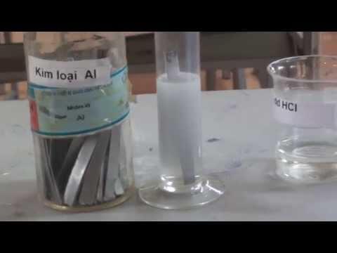 Thí nghiệm:  Al + dd HCl