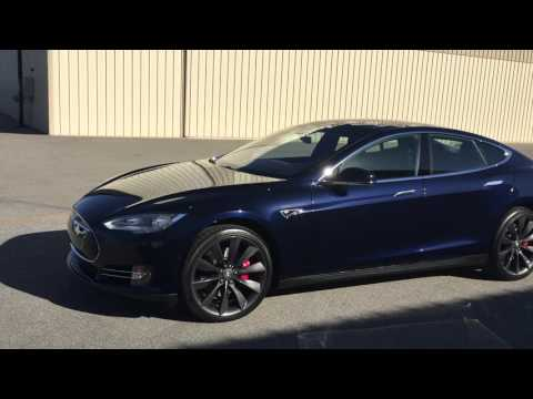 Matrix Auto Detail Tesla P85D 9H Coating