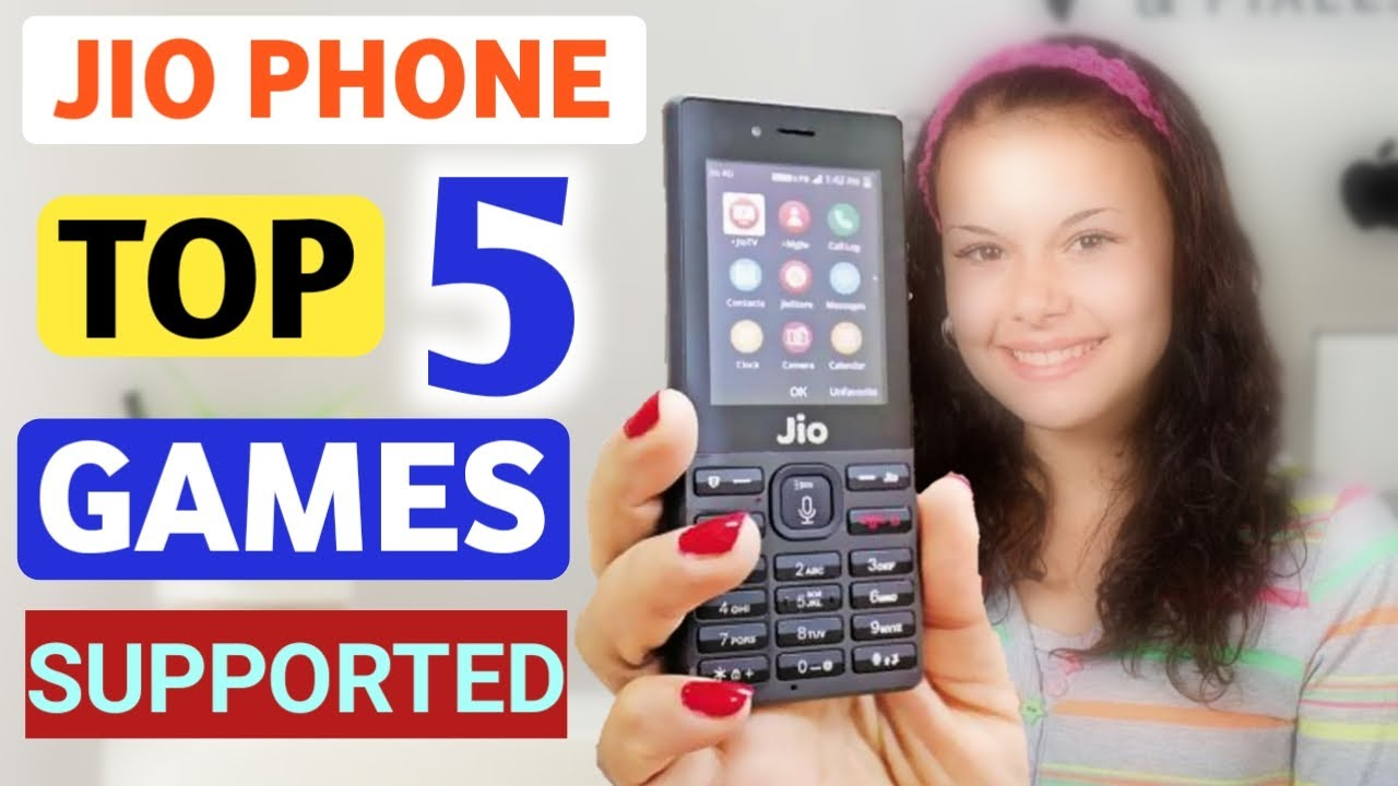 Top 5 Amazing Online Games On Jio Phone Five Best Game Play On Jio Phone Supported Youtube