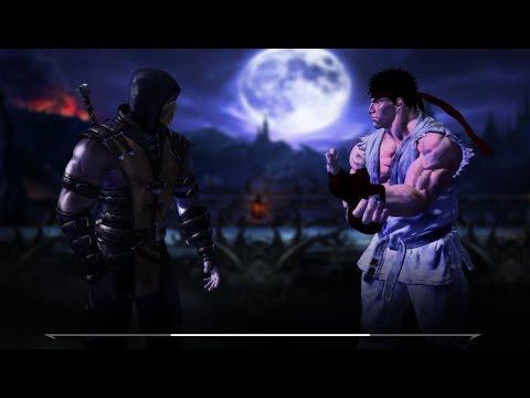 Mortal Kombat Vs Street Fighter Trailer Fan Game Youtube