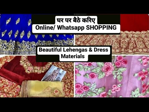 Place For Festive Wholesale, Retail & WhatsApp Shopping - Catalogue Dress Materials/Lehengas -Mumbai