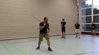 "Longsword seminar with Axel Pettersson in Ulm, Germany: ""Zornhau"""