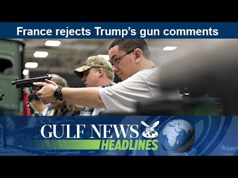 France rejects Trump's gun comments - GN Headlines