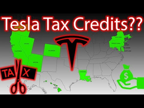 Free Money to Buy a Tesla!! Tax Credits Explained!