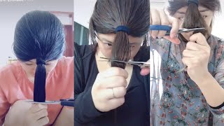 [抖音] Hot Trend Cut Hair On Tik Tok China | Hot Trend Tik Tok China