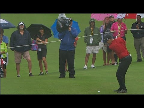 2013 PGA Grand Slam of Golf Highlights: Padraig Harrington birdie on 7