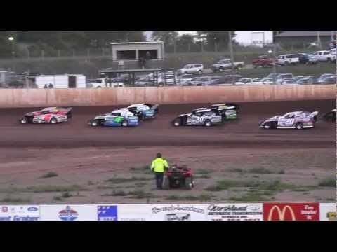 USMTS @ Rice Lake Speedway Hunt Race #6--Heat#3-    8-16-2012.MTS